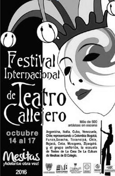 Festival Internacional de Teatro Callejero en Mesitas de El Colegio