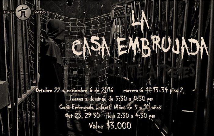 "Vuelve Taller Teatro con ""La casa embrujada"" a Soacha"