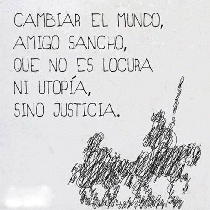 Quijotada….