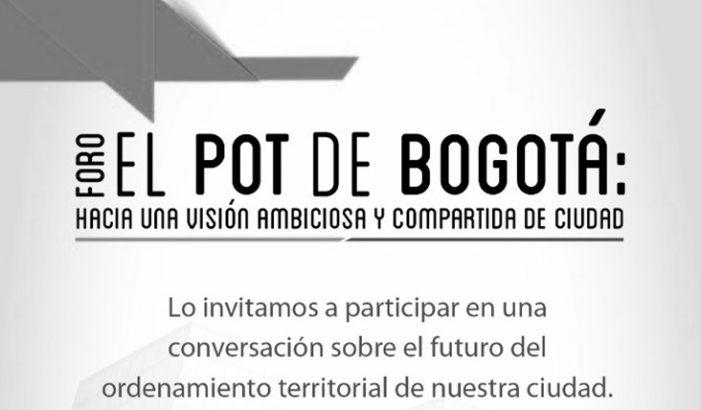 ProBogotá Región realiza primer Foro sobre el Plan de Ordenamiento Territorial de Bogotá