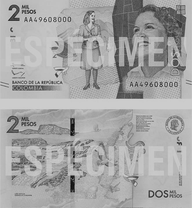 Nuevo billete de 2 mil pesos entrará en circulación el 29 de noviembre