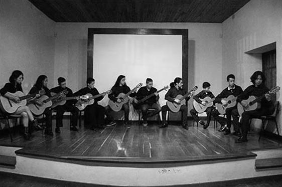 Concierto Ensamble de guitarra clásica de Sibaté