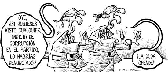 Políticos ciegos…..