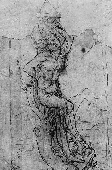 Encuentran dibujo de Leonardo Da Vinci
