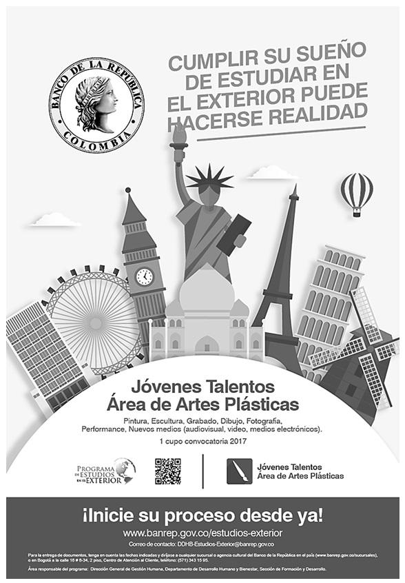 Convocatoria Beca Jóvenes Talentos 2017 (Artes Plásticas)