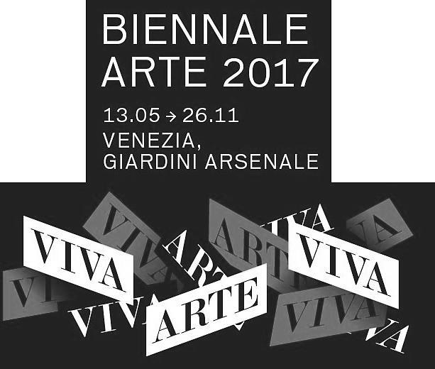 Anuncian la lista de artistas para la Bienal de Venecia 2017