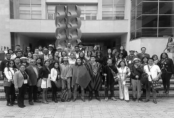 Avanza plan de concertación con los pueblos indígenas de Bogotá.
