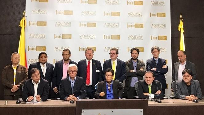 Carta de partidos alternativos al Presidente Santos sobre la Reforma Política