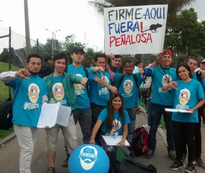 Movimiento de Revocatoria de Peñalosa ha recogido 512.000 firmas