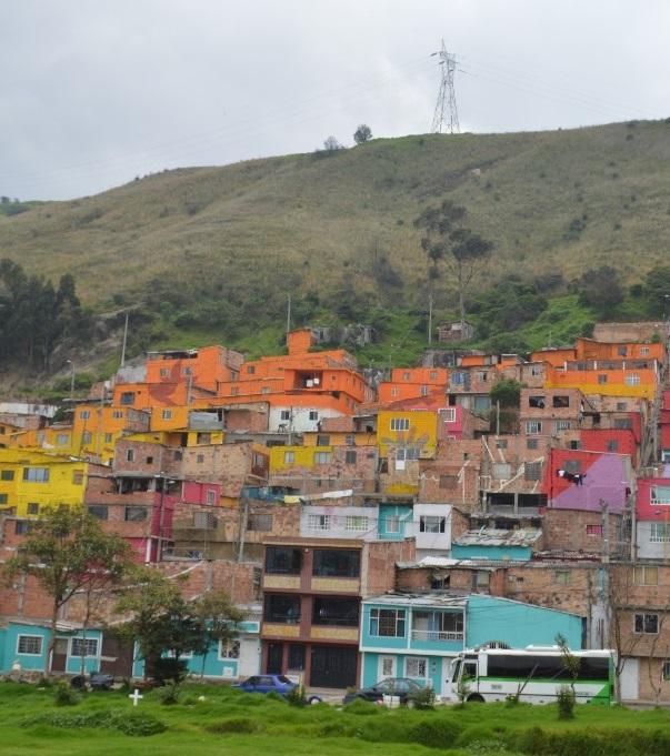 El barrio Los Puentes, ubicado en el suroriente de Bogotá se transforma