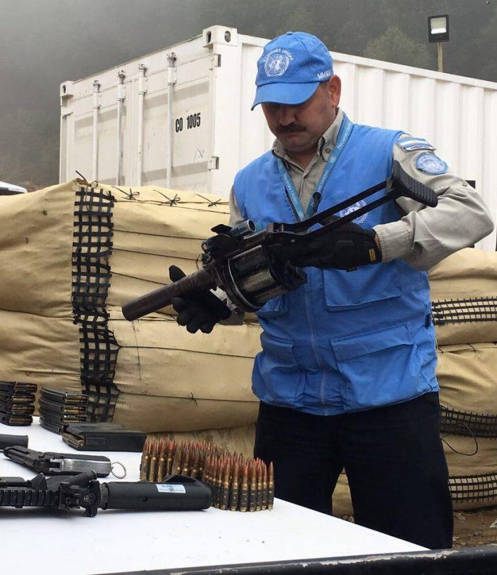 Con éxito avanza desarme de las Farc