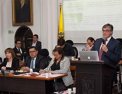 Concejo de Bogotá aprobó cupo de endeudamiento de la EAB