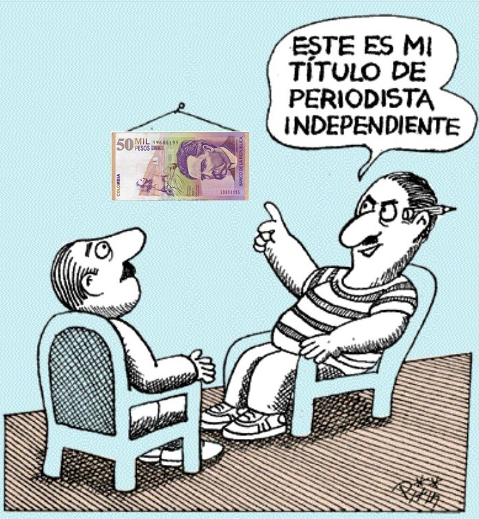 Periodista independiente….