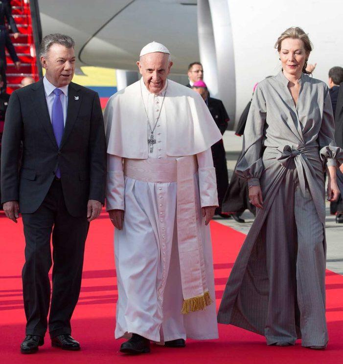 Visita del Papa Francisco a Colombia