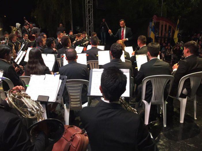 Banda Sinfónica Especial de Chía ganadora del XII concurso Nacional del Bambuco