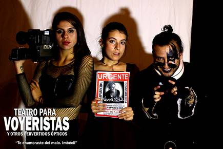 """""""Voyeristas y otros pervertidos ópticos"""" en el Gilberto Alzate Avendaño"""