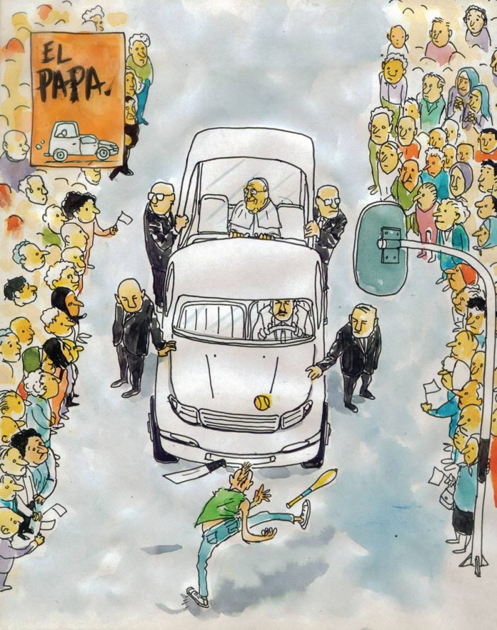 Recorrido Papal…