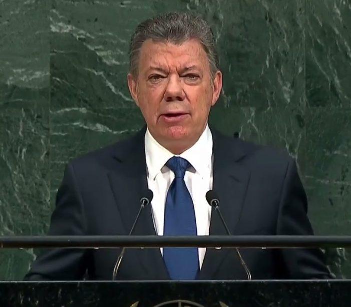 Palabras del Presidente Juan Manuel Santos ante la Asamblea General de las Naciones Unidas