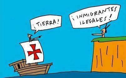 De ilegales…