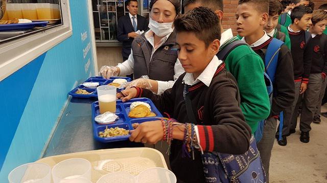 Más colegios de Bogotá con comedores escolares