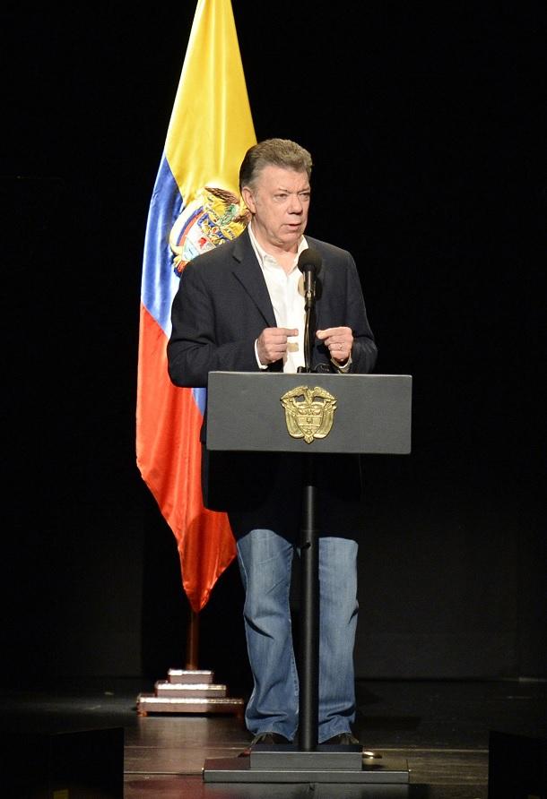 """Presidente Santos: """"Que no quede la menor duda seguiremos cumpliendo los acuerdos"""""""