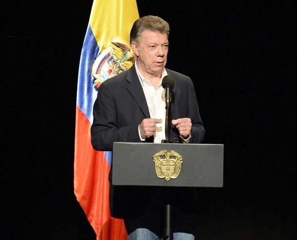 """Presidente Santos: """"Construir la paz es el desafío más grande, el más importante, el más valioso, que cualquier país pueda tener"""""""
