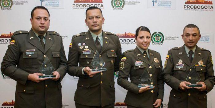 Estos son los ganadores del Primer Premio ProBogotá al Mejor Policía Metropolitano