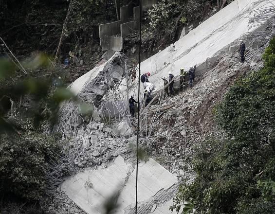 Experto internacional apoyará investigación por colapso del puente de Chirajara