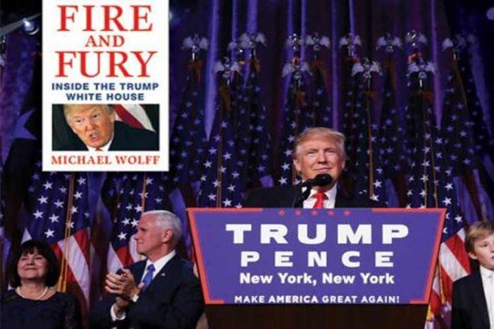 """Adelantan venta del polémico libro """"Fuego y Furia"""" sobre Trump"""