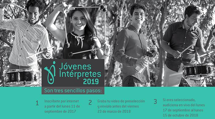 Convocatoria Serie Jóvenes intérpretes 2019