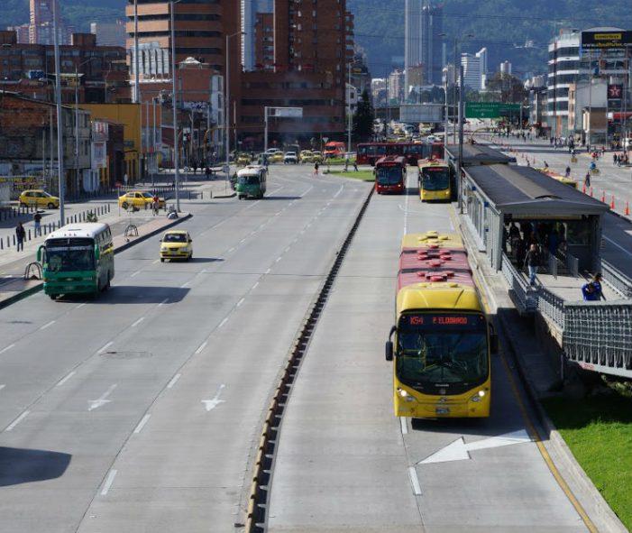 Día sin carro y sin motos en Bogotá