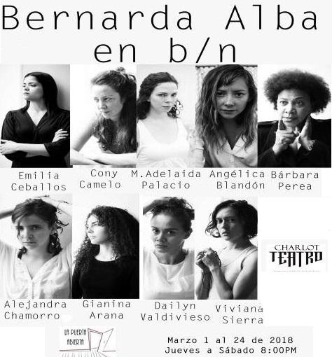 """""""Bernarda Alba en blanco y negro"""" en temporada"""