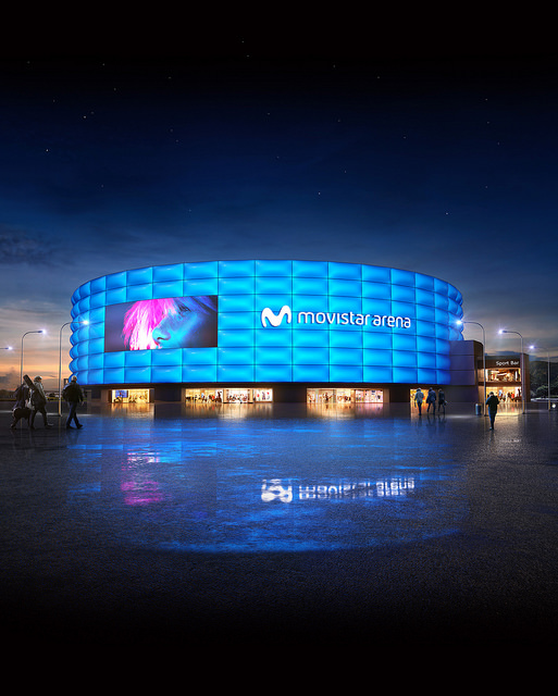 Bogotá tendrá el escenario de espectáculos más moderno de América Latina: Movistar Arena