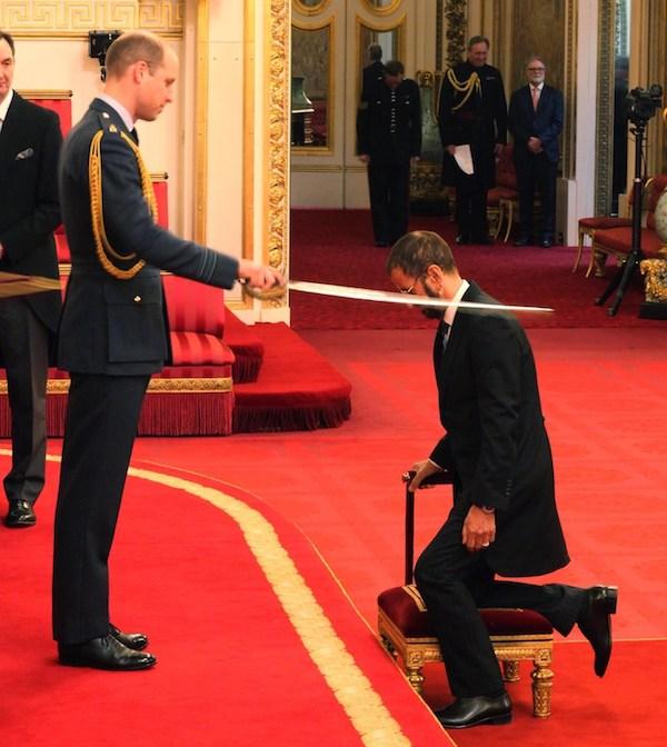 Ringo Starr nombrado Sir