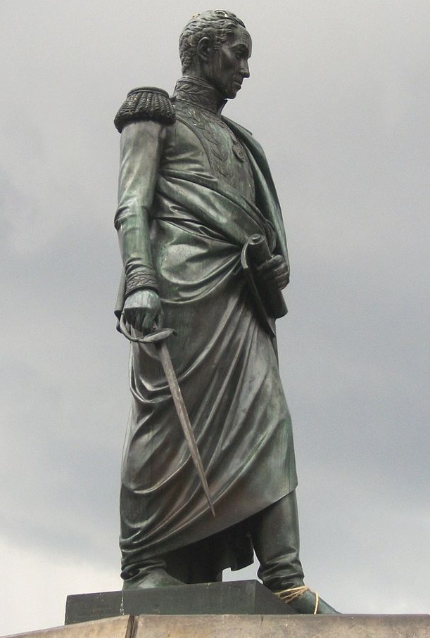 Monumento a Simón Bolívar recupera la hoja de su espada