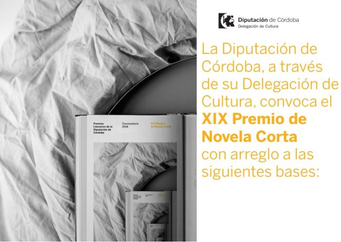 XIX Premio de Novela Corta Diputación de Córdoba