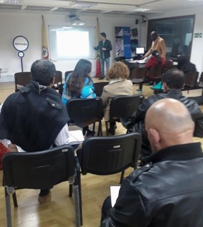 OAB visitó la Comisión Ambiental de la Localidad Antonio Nariño