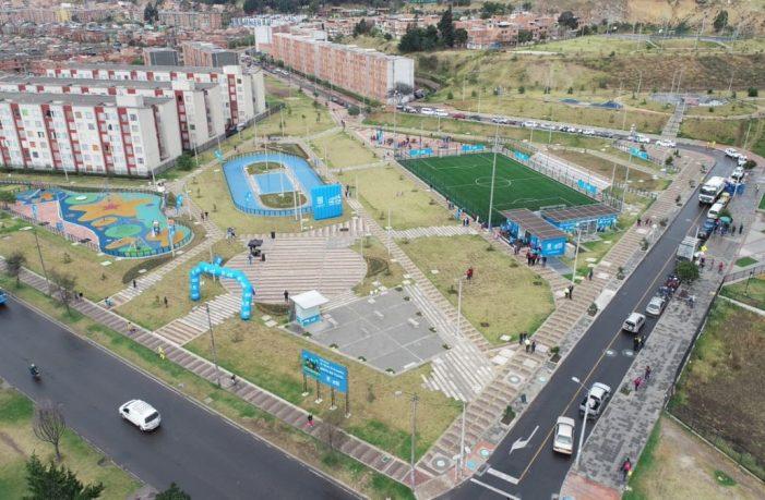 Distrito entrega parque taller El Ensueño, en Ciudad Bolívar
