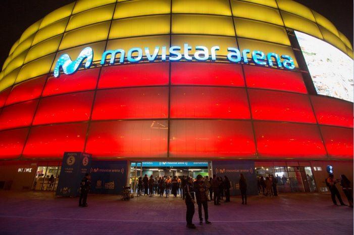 Inaugurado el Movistar Arena, escenario que reemplazó al Coliseo El Campín