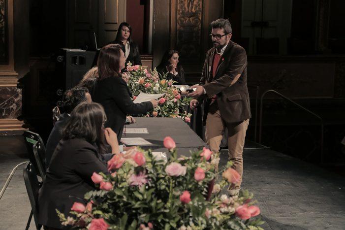 MinCultura realiza la Noche de Estímulos en el Teatro Colón