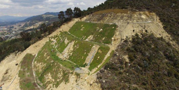 Bogotá avanza en la recuperación de los Cerros Orientales