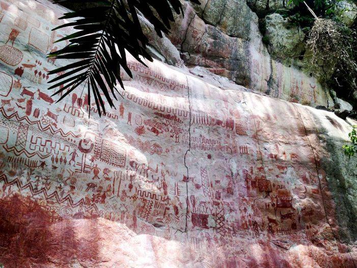 Quedó protegido el sitio con más pinturas rupestres en Colombia