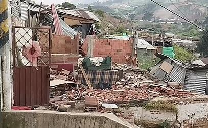 Lluvias y deslizamientos crean emergencia en Ciudad Bolívar