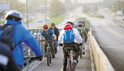 Bogotá, nominada a los premios Ashden en Inglaterra por el Plan Bici