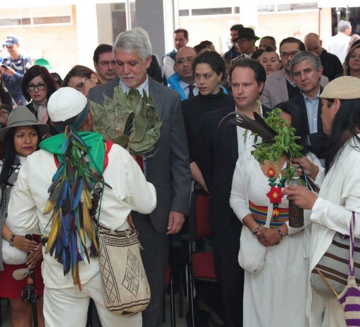 Bogotá entrega a Cabildo Muisca de Bosa territorio para construcción de sus viviendas
