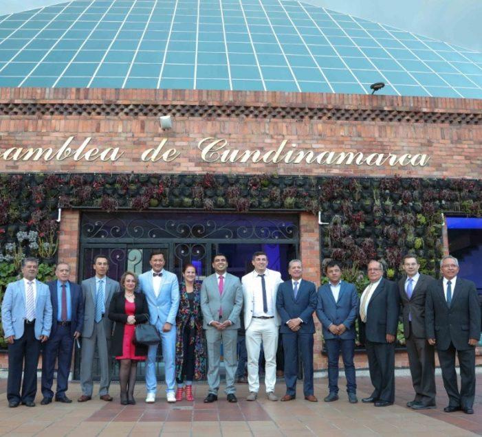 Universidad de Cundinamarca reconoce la labor de la Asamblea Departamental