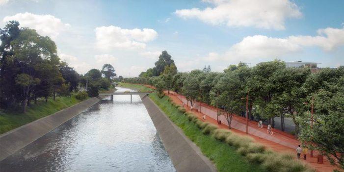 Río Fucha tendrá Alameda de 17 kilómetros de senderos y ciclorrutas