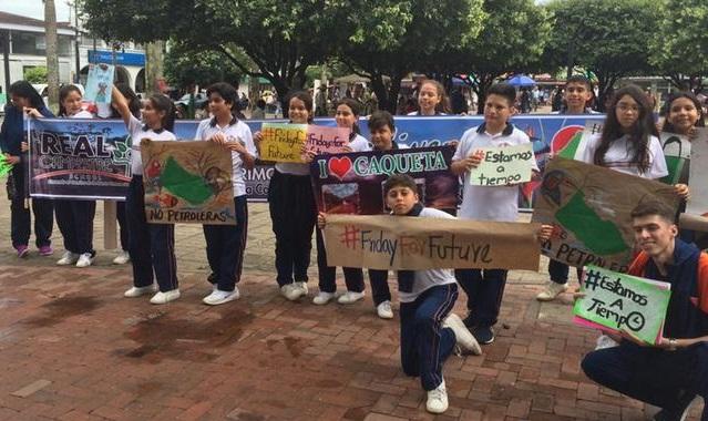 Jóvenes colombianos que luchan por el Amazonas: en los tribunales y en las calles