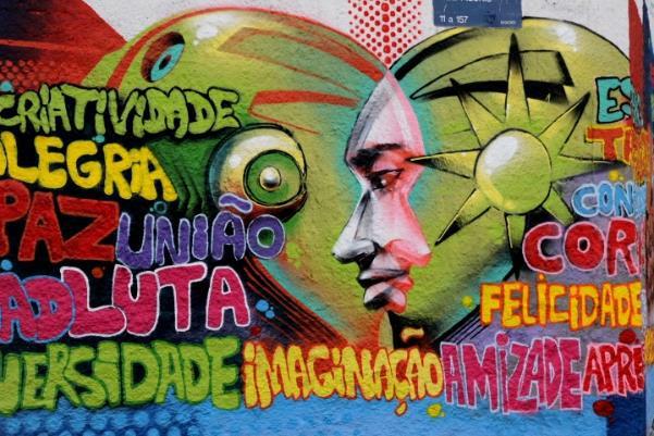 El graffiti llenó HELIÓPOLIS de colores