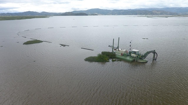"""Hemos recuperado uno de los ecosistemas más importantes, la laguna de Fúquene"""": director de la CAR"""